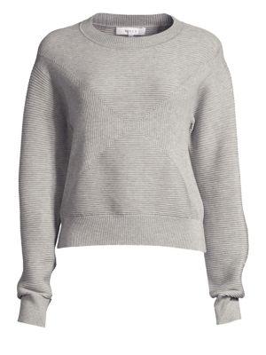 Geo Textured Sweater