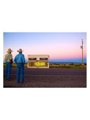 Prada Marfa Two Cowboys Photo