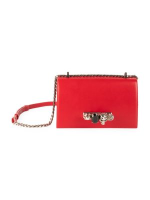 Jeweled Four-Ring Satchel