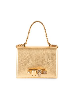 Small Jeweled Satchel