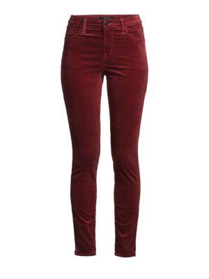 Maria Skinny Velvet Pants