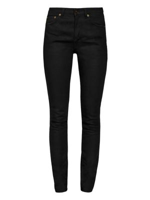 Medium-Rise Five-Pocket Skinny Jeans