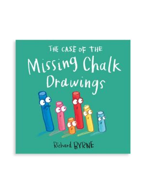 Kid's The Case of the Missing Chalk Drawing