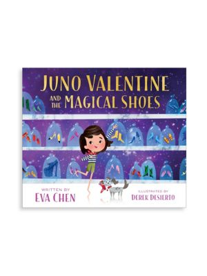 Juno Valentine and the Magical Shoes Book