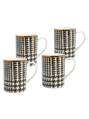 Wessex 4-Piece Porcelain Mug Set