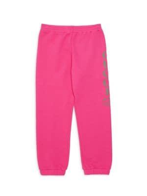 Little Girl's & Girl's Side Logo Jogging Pants