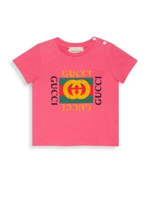 Baby Girl's Logo Print Graphic Tee