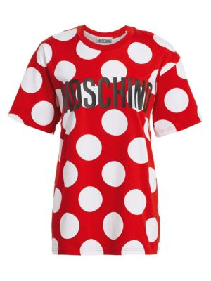 Oversized Polka-Dot Tee