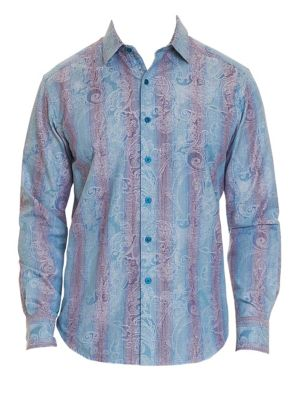 Patel Cotton Paisley Sport Shirt