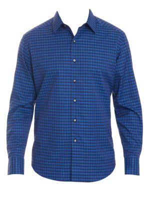 Grayson Long Sleeve Cotton Shirt
