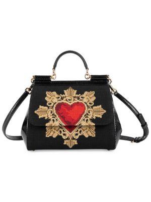 Medium Sacred Heart Sicily Satchel