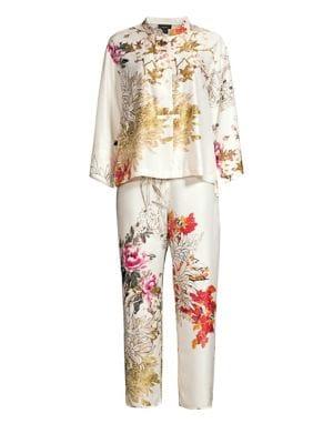 Nikko Floral Two-Piece Pajama Set