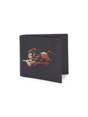 Leo Wallet In Coated Canvas