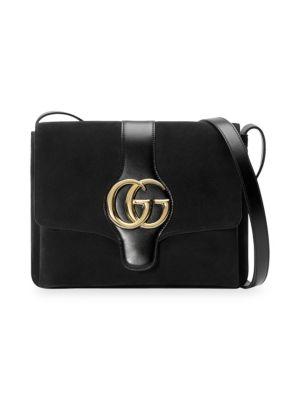 Medium Arli Shoulder Bag - Black in Nero