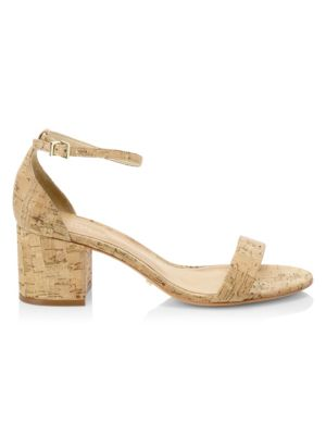 Chimes Cork Ankle-Strap Sandals