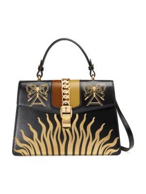 Sylve Symbol Medium Top Handle Bag
