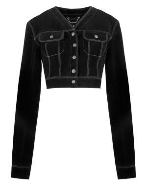 Redux Grunge Suede Cropped Jacket