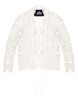 Redux Grunge Crochet Cotton Cardigan