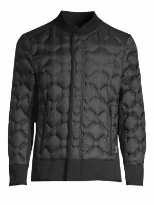Tumi Outerwear Geo Quilted Down Jacket