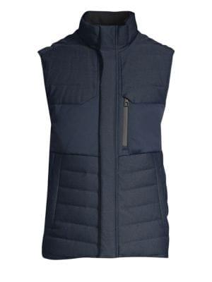 Tumi Outerwear Heritage Reversible Down Vest