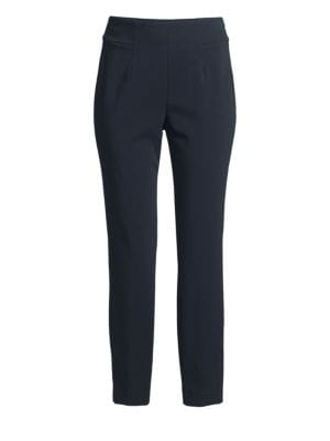 PESERICO | Stretch Ankle Pants | Goxip