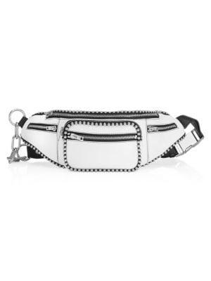 Attica Soft Leather Ball Chain Waist Bag