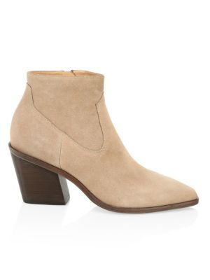 Razor Suede Ankle Boots