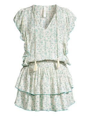 Quinn Marguerite Floral Tunic Dress