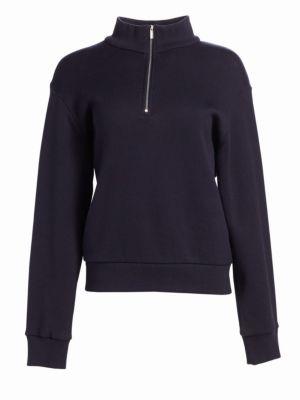 Ashlee Zip Placket Sweatshirt