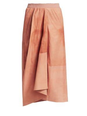 GENTRY PORTOFINO | Full Leather Skirt | Goxip