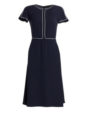 LORO PIANA | Rianne A-Line Silk Dress | Goxip