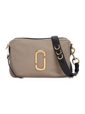 The Softshot 27 Leather Crossbody Bag