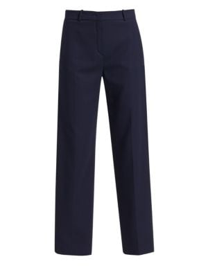 LORO PIANA | Adam Flowing Silk-Blend Wide-Leg Pants | Goxip