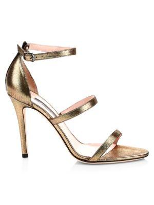 Halo Strappy Stiletto Heels