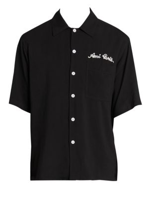 Text logo Short Sleeve Shirt