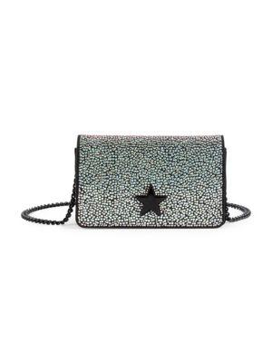 Small Star Studded Shoulder Bag