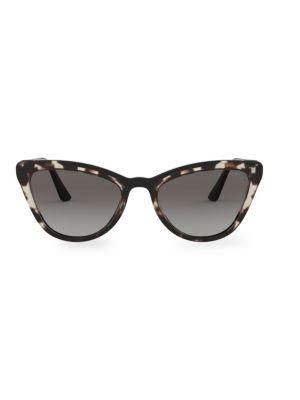 Tortoiseshell 56MM Cat Eye Sunglasses