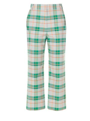 Hani Plaid Taylor Trousers
