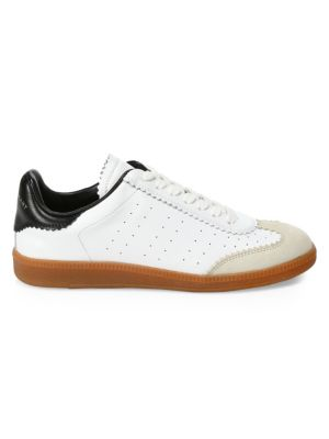 Bryce Low-Top Leather Sneakers