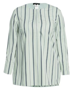 Tilly Striped Cotton Blouse