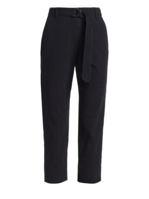 Crepe Monili Waist Trousers