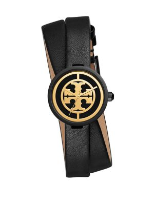 The Reva Two-Piece Leather Strap Watch
