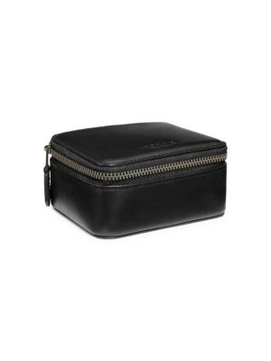 Small Leather Travel Case
