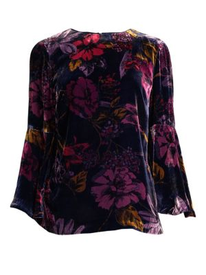 Astral Floral Top, Multi