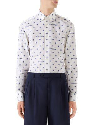 05a5787de857 Gucci Star Fil Coupé Shirt | £648.82 | Gay Times