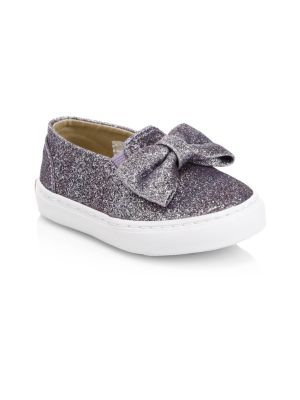 Little Girl's Juno Valentine x Janie and Jack Slip-On Sneakers