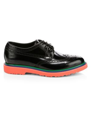 Crispin Tricolor Sole Leather Brogues