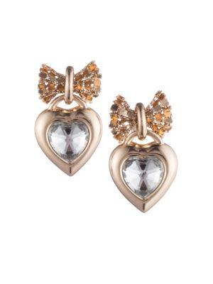 Elora Heart Drop Earrings