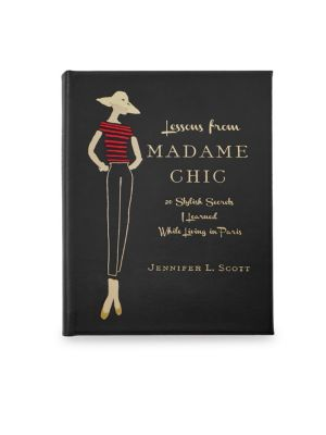 Leather-Bound Madame Chic Book