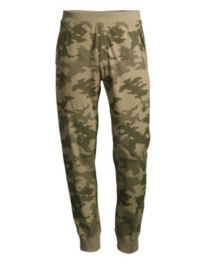 Cotton Camouflage Pants